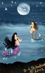 Mermaid Moon Walking